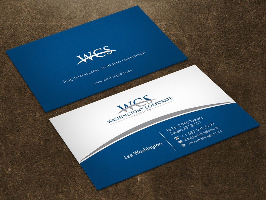 Custom Card Template design a business card : 19 Creative Business Card Designs from 99designs