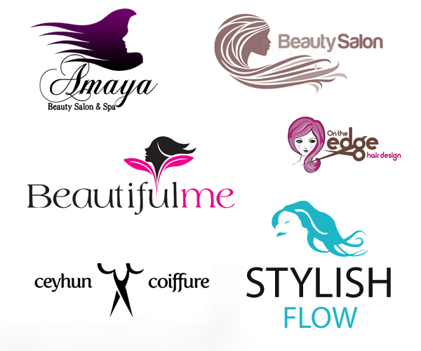 19 Creative Beauty Salon and Spa Logo design ideas