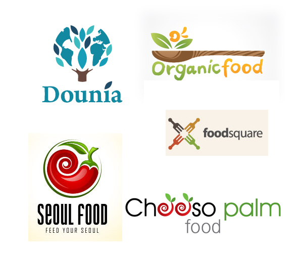 creative food logo design in saudi arabia - Company Logo Design Ideas