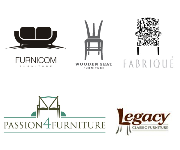 17 Creative Wood & Furniture Logo Design for Inspiration in KSA