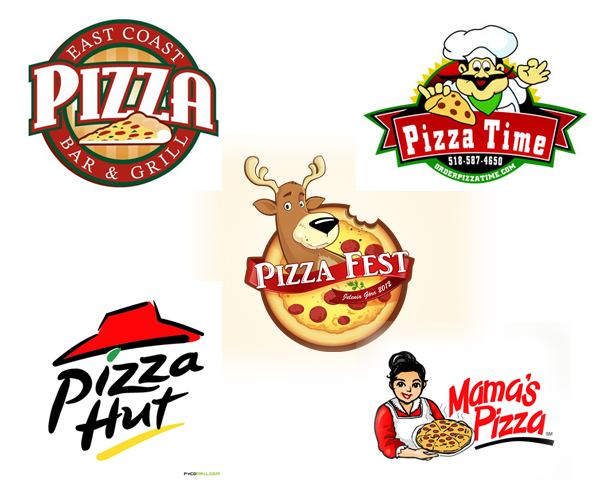 20 Creative Pizza Logo Designs inspiration & ideas