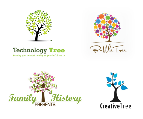 15 Creative Tree Logo Design Inspiration 2015/16