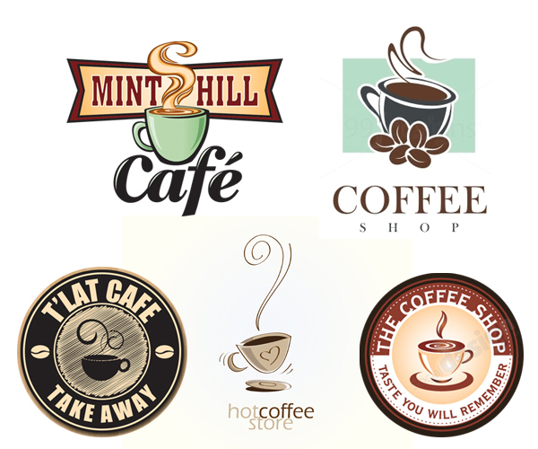 21 Amazing & Delicious Coffee Shop Logo Design ideas