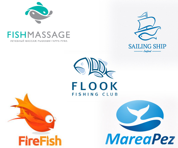 22 Awesome Fish Logo Design Inspirations & ideas