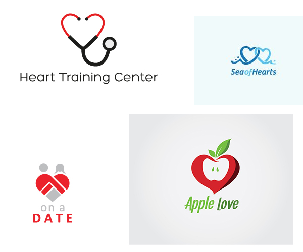 10 Lovely & Caring Heart Logo Designs for inspiration in KSA
