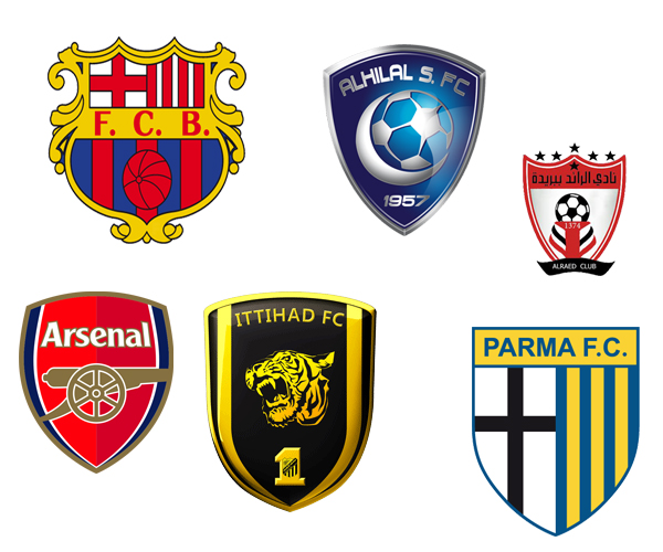 20 Best Football Club Logo Designs for Inspiration in Saudi Arabia