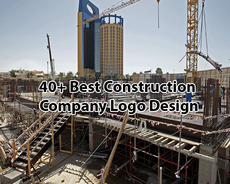 40+ Best Construction Company Logo Design Examples