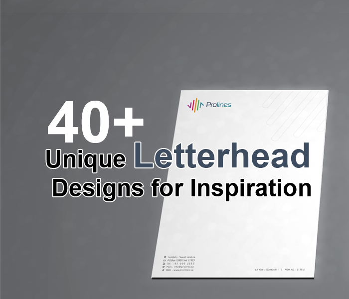40+ Unique Letterhead Designs for Inspiration in Saudi Arabia