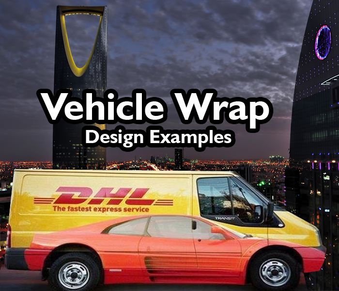 50+ Best Car, Truck, Van & Vehicle Wrap Design Examples in Saudi Arabia