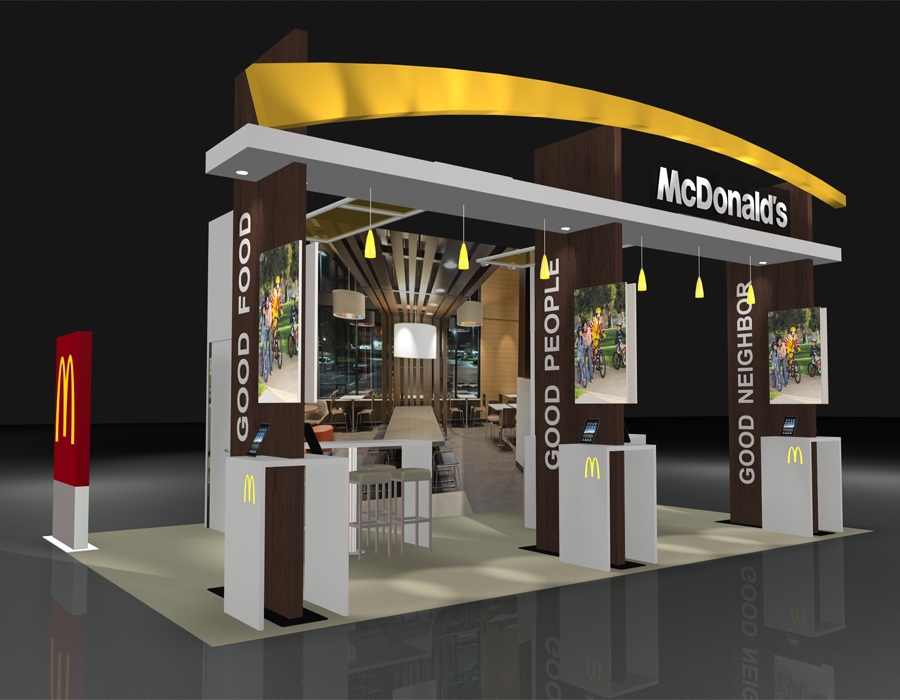 Exhibition A Booth : Best exhibition trade show booth design inspiration