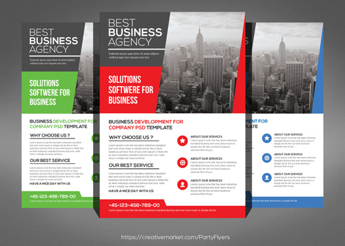 Business-Flyers-template