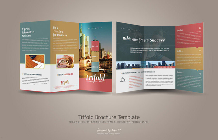 Trifold-Brouchures-Template