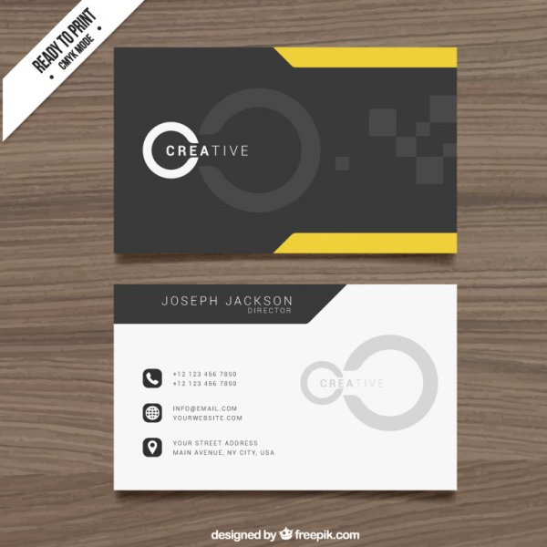 black-and-yellow-cloro-bussiness-card-design