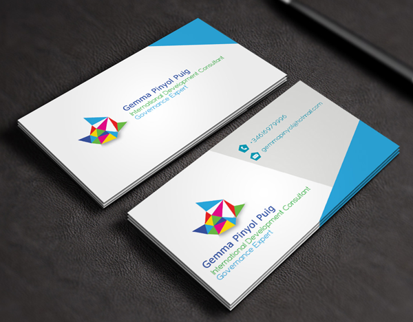 56 business card design inspiration for saudi business blue and white saudi business card colourmoves
