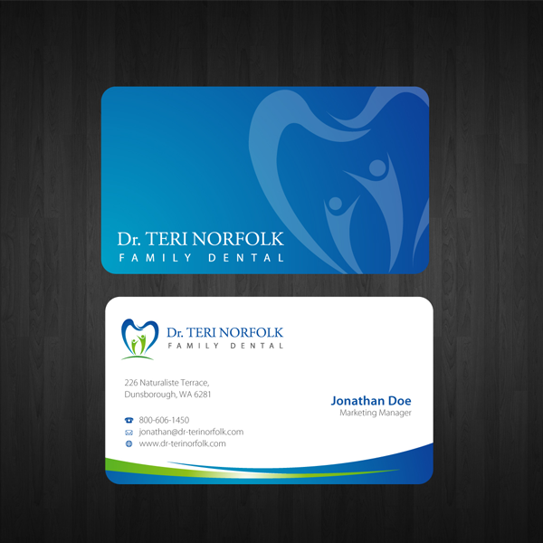 Business Card Design Inspiration For Saudi Business