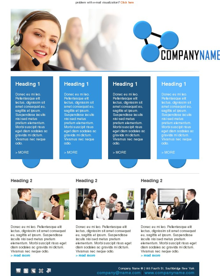 company-email-newsletter-design