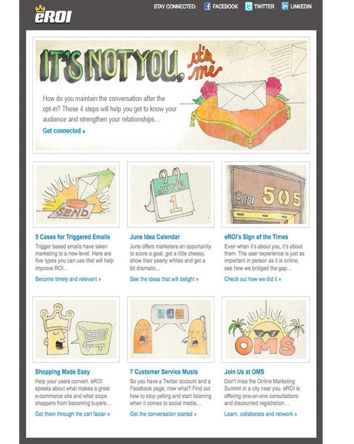 ecommrance-website-newsletter-design