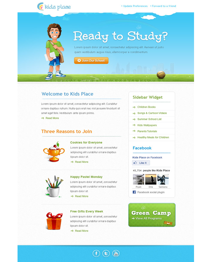 email-newsletter-design-for-kids-products