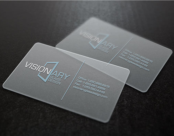 gray-color-business-card