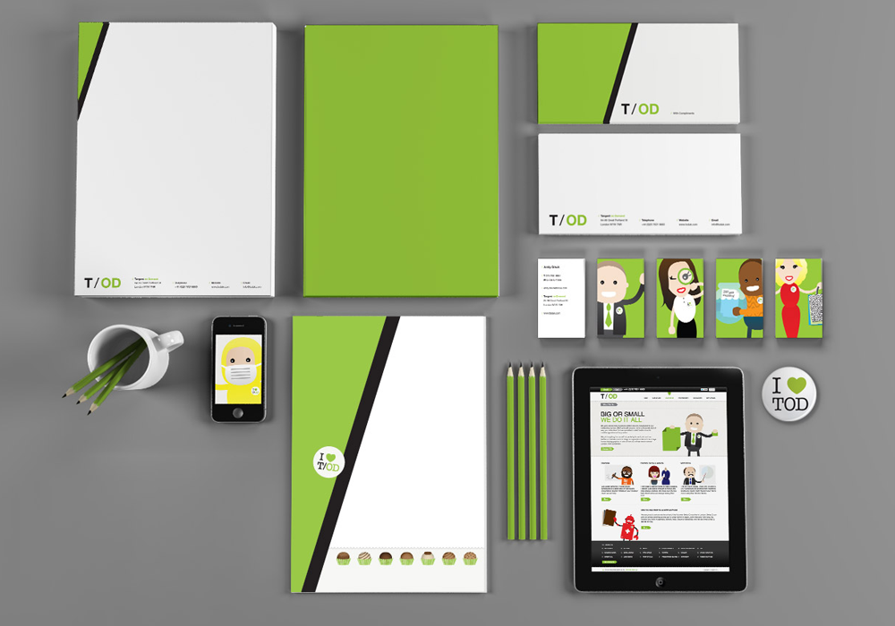 green-color-stationery-design-idea