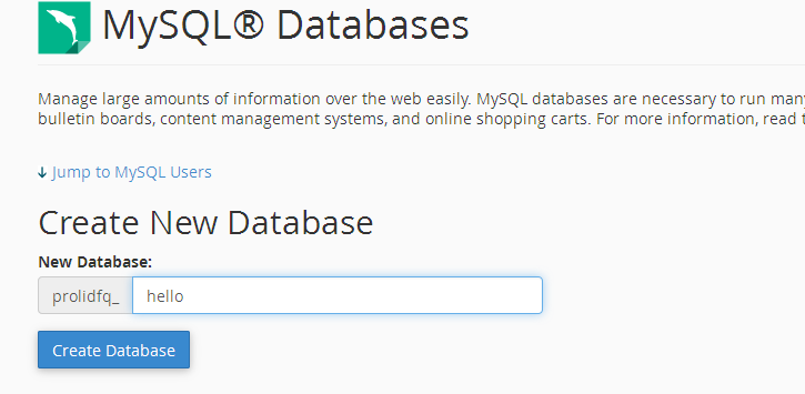 how-to-create-my-sql-databases