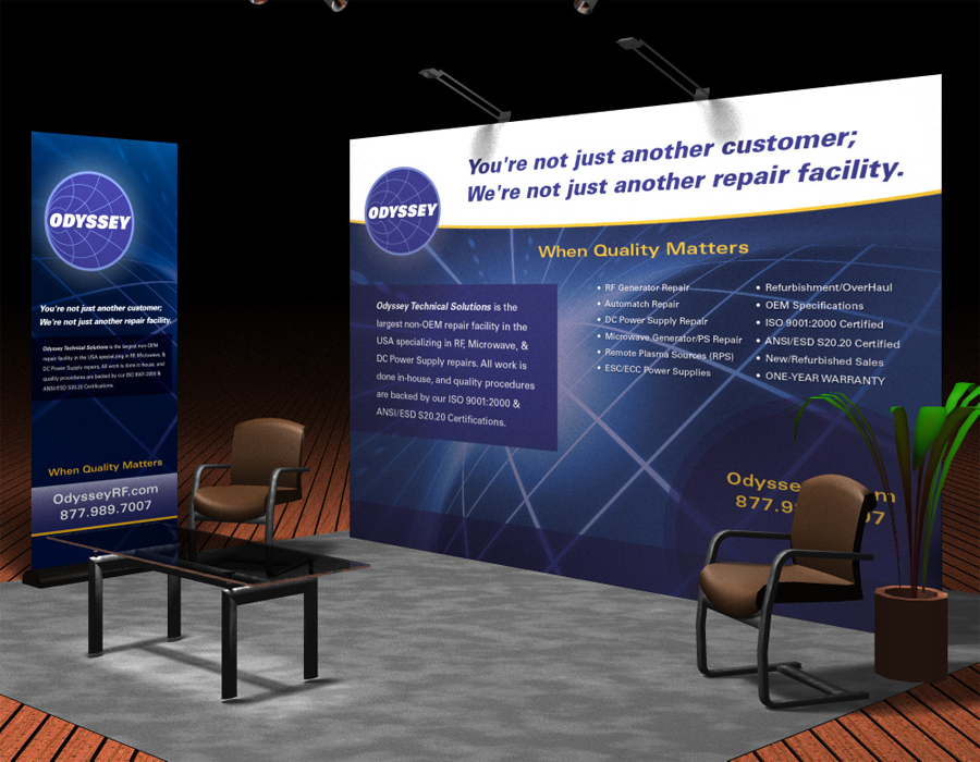 Jeddah Trade Show Booth Design Idea