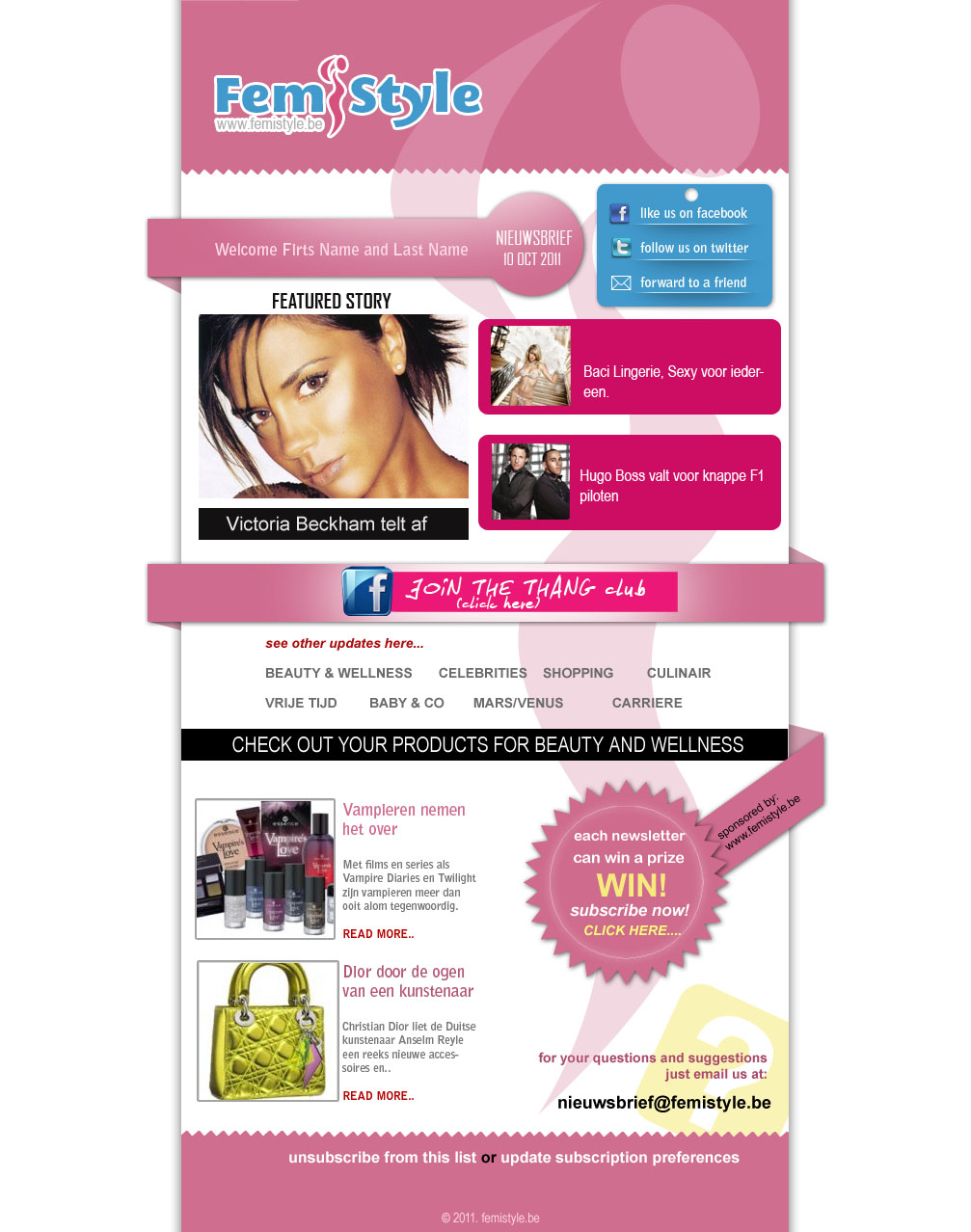 newsletter-template free