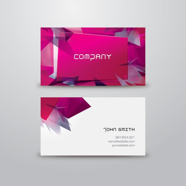 pink-business-card-design