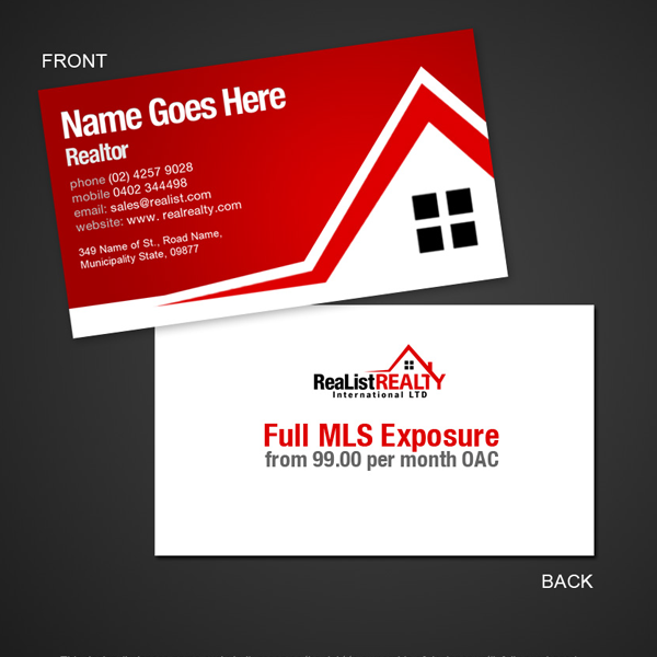 real-estates-business-card-design