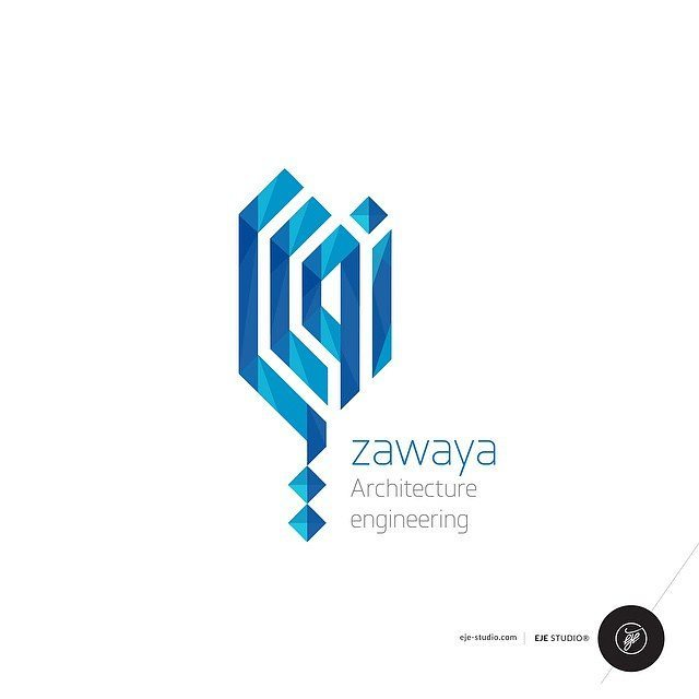 zawaya logo design for engineering