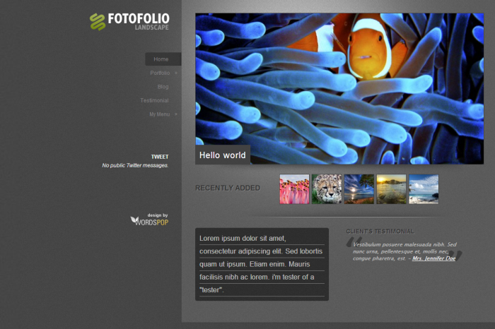 Fotofolio-Landscape-wordpress-theme