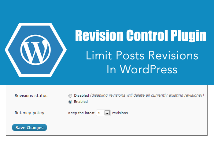 Revision-Control-wordpress-plugin