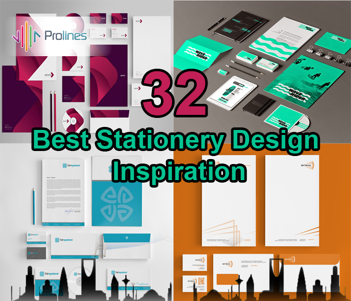 32+ Best Stationery Design Inspiration for Saudi Companies