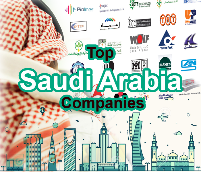 Top Saudi Arabia Companies Name, Logos & Websites