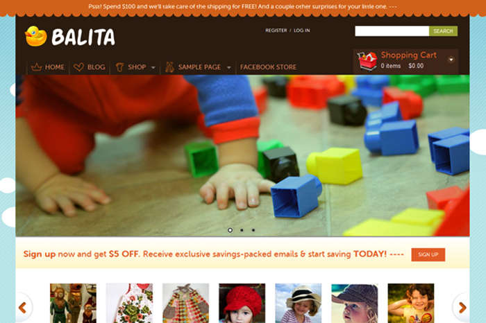 balita-theme-download-free