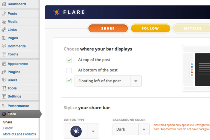 flare-wordpress-plugin-download