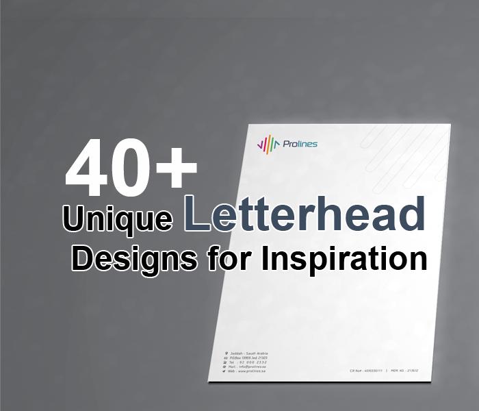 Cool Letterhead Designs: 40+ Unique Letterhead Designs For Inspiration In Saudi Arabia